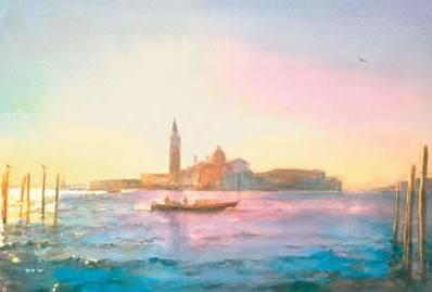 Morning San Giorgio by Cecil Rice