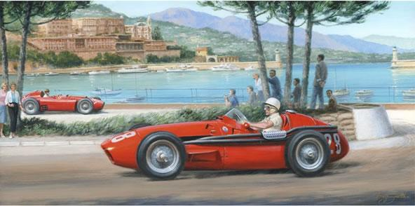 Moss - Maserati - Monaco - Magic by Tony Smith