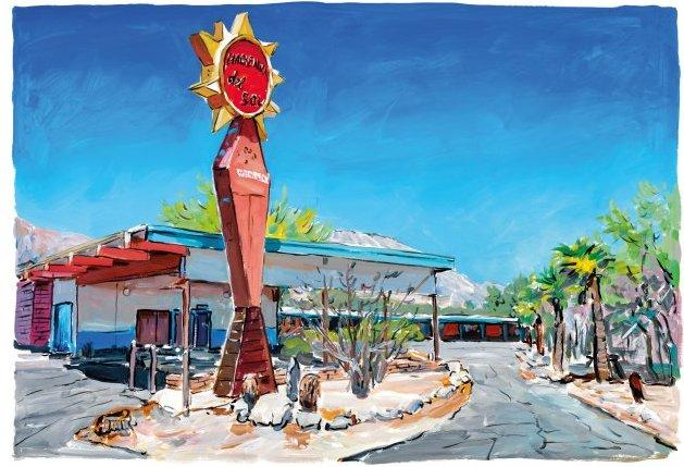Motel In New Mexico by Bob Dylan