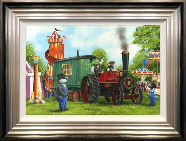 Mr Toad and Moley's Steam Adventures by Dale Bowen