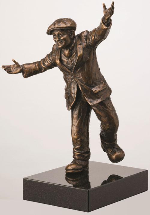 My Way - Bronze by Alexander Millar