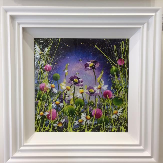 Mystic Meadow I (16 x 16) by Rozanne Bell