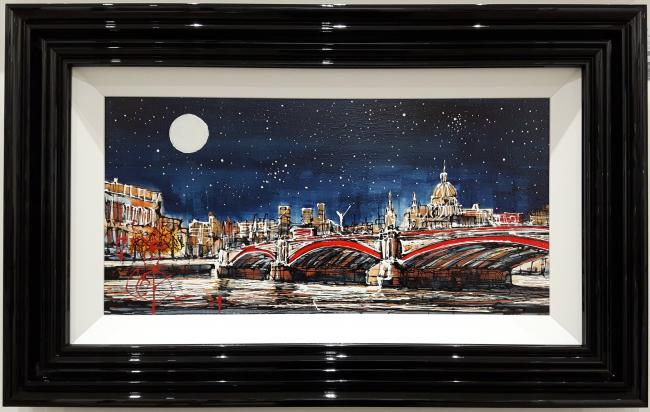 Night Time London I by Nigel Cooke