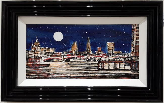 Night Time London II by Nigel Cooke