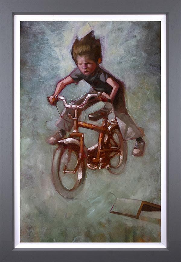 No Footer- Canvas by Craig Davison