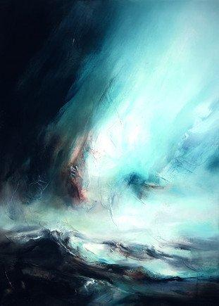 Northern Lights I by Chris & Steve Rocks