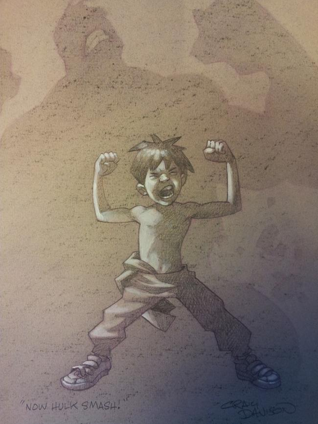 Now Hulk Smash by Craig Davison