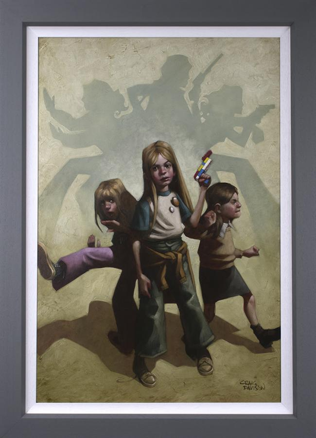 Ok Angels, Lets Get To Work- Deluxe by Craig Davison