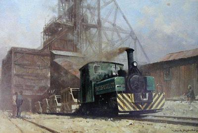On The Sub Nigel Mine In The Transvaal by David Shepherd