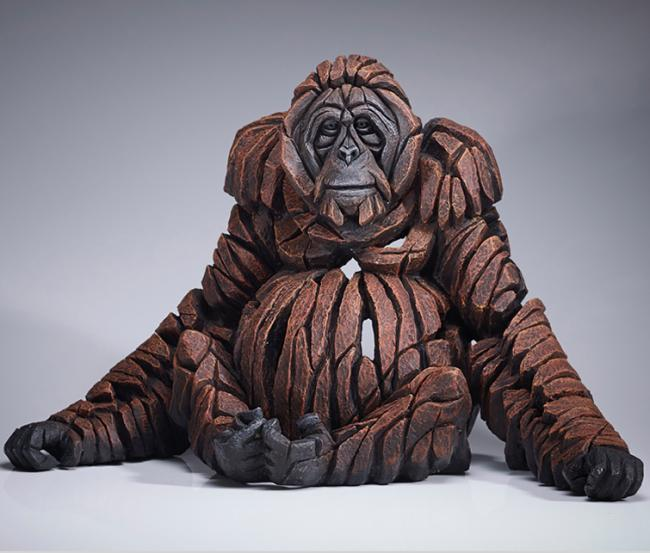 Orangutang by Edge Sculptures by Matt Buckley