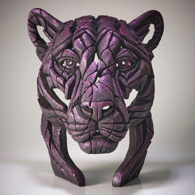 Panther Bust-Rinky Dinkby Edge Sculptures by Matt Buckley