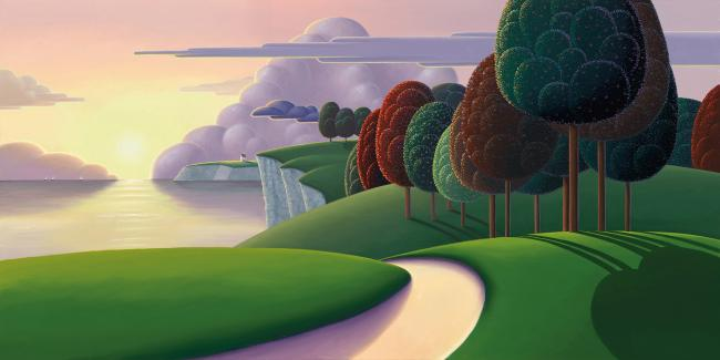 Paradise Bay by Paul Corfield
