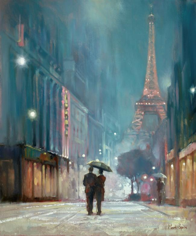 Paris Romance II by Mark Spain