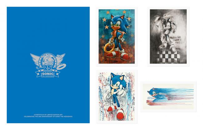 Paul Kenton Sonic The Hedgehog Sega Portfolio by Paul Kenton