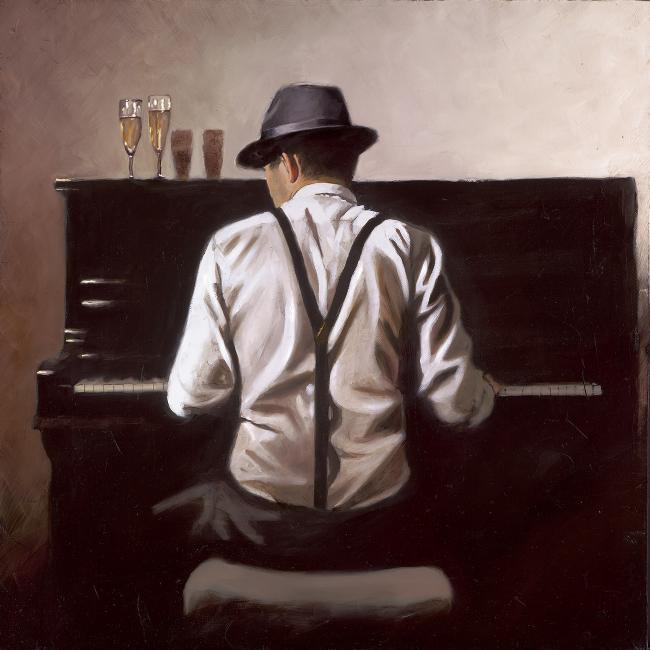 Piano Man by Richard Blunt