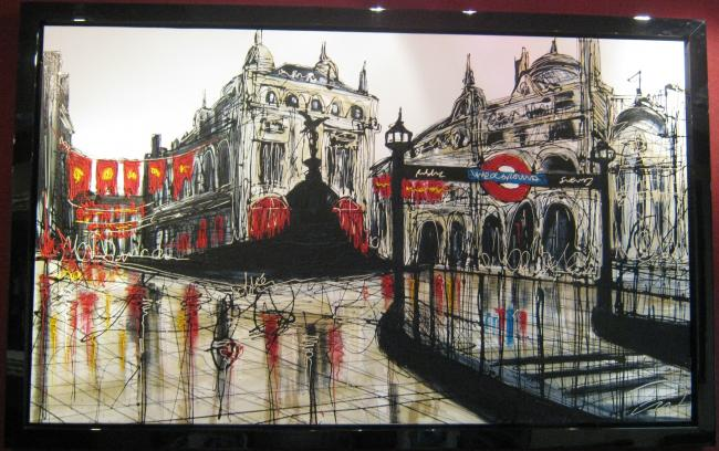 Piccadilly Circus by Edward Waite