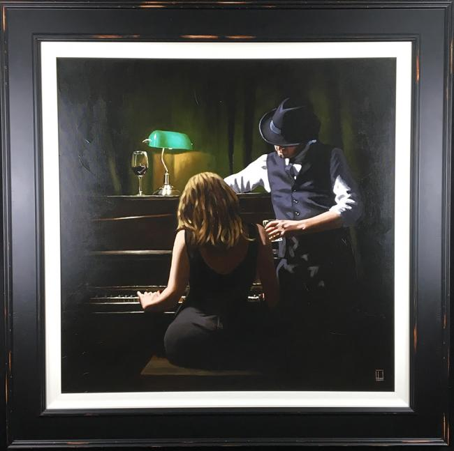 Play It Again - Canvas by Richard Blunt