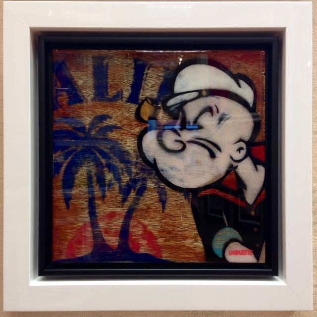 Pop Panels - Popeye by Lhouette