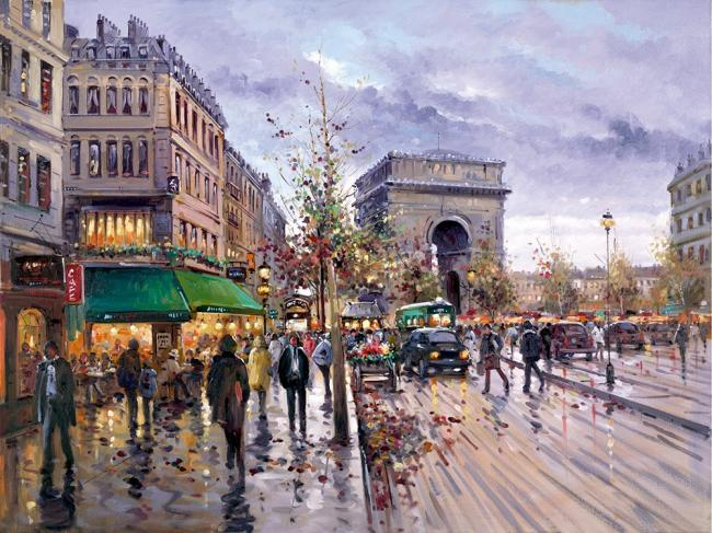 Postcard From Paris by Henderson Cisz