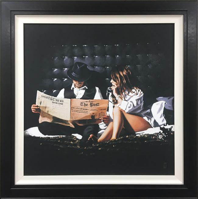 Priceless - Canvas by Richard Blunt