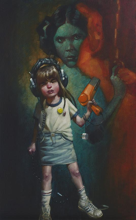 Princess Laura (Princess Leia/Star Wars) by Craig Davison