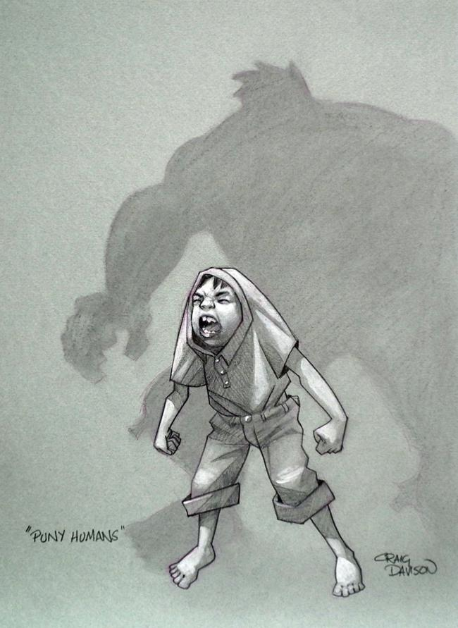 Puny Humans by Craig Davison