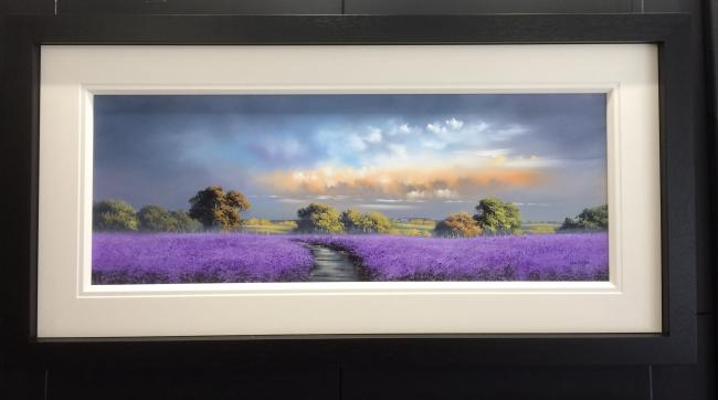 Purple Landscape III by Allan Morgan