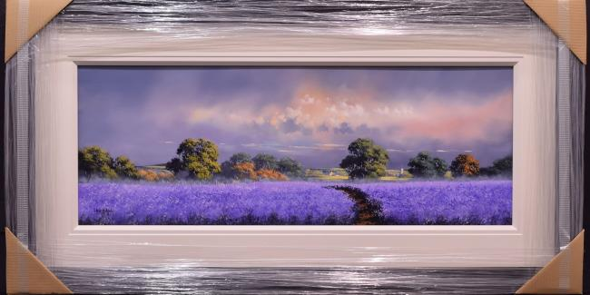Purple Landscape IV by Allan Morgan