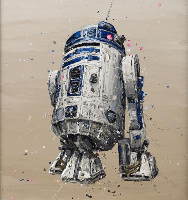 R2-D2 by Paul Oz