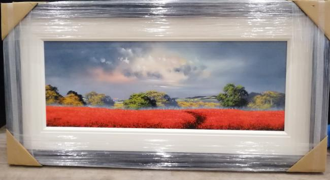 Red Landscape I by Allan Morgan