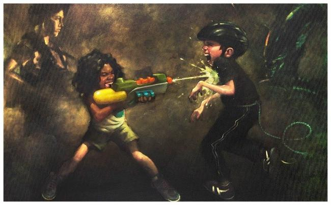 Ripleys Game - Canvas by Craig Davison