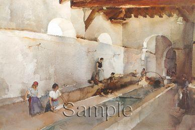 Ripples And Chatter by Russell Flint