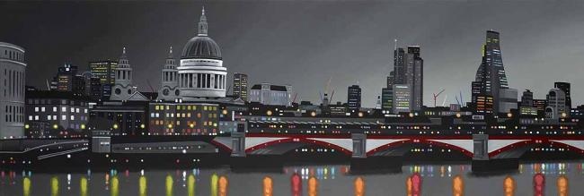 River Panorama by Neil Dawson