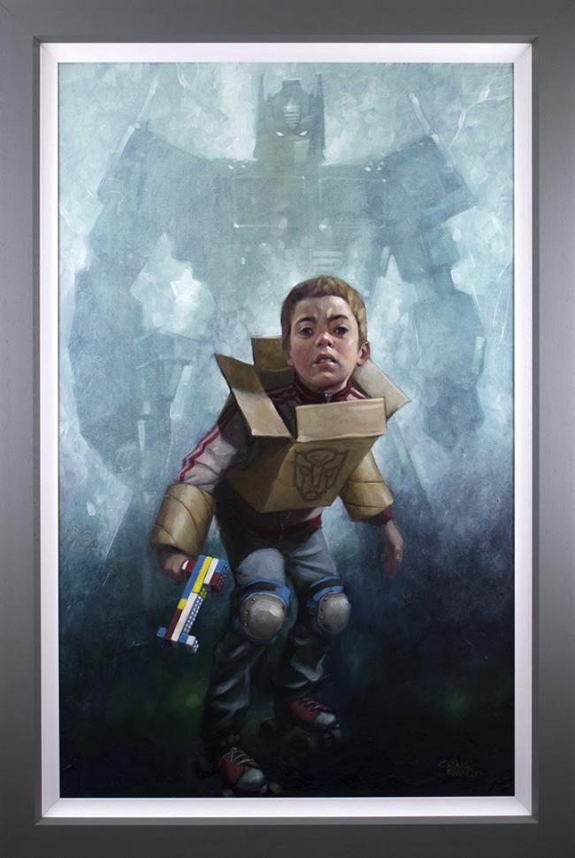 Robert's In Disguise - Canvas by Craig Davison