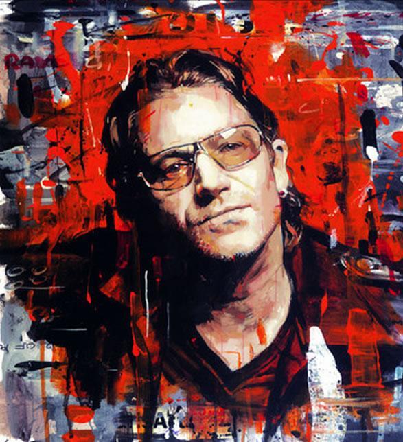 Rock Star - Bono by Zinsky
