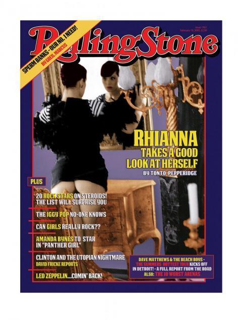 Rolling Stone Magazine - Rhianna – 2014 by Bob Dylan