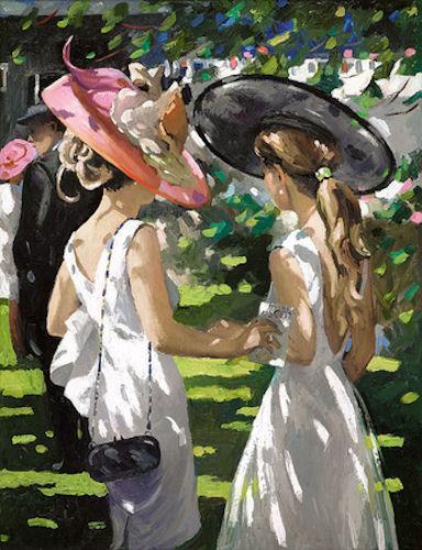 Royal Ascot Ladies Day I by Sherree Valentine Daines