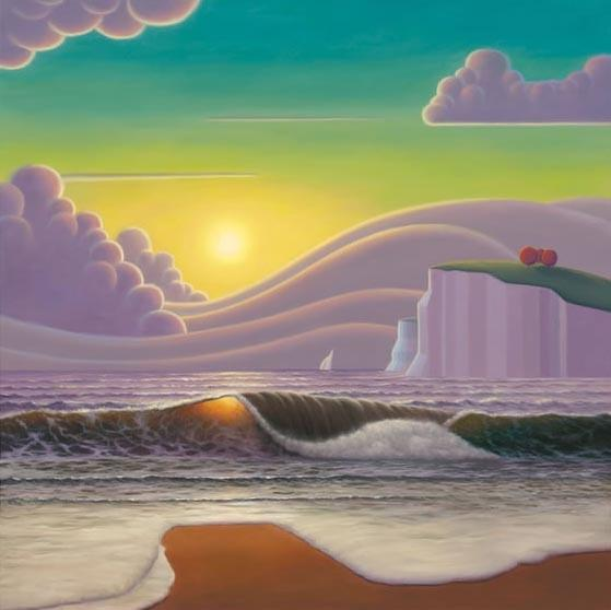Sailing Into The Sunset by Paul Corfield