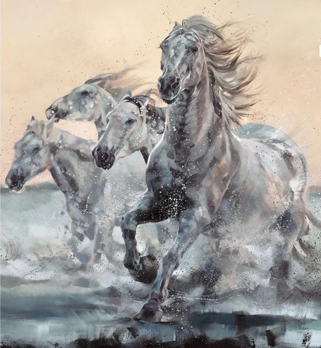 Sea Horses by Debbie Boon
