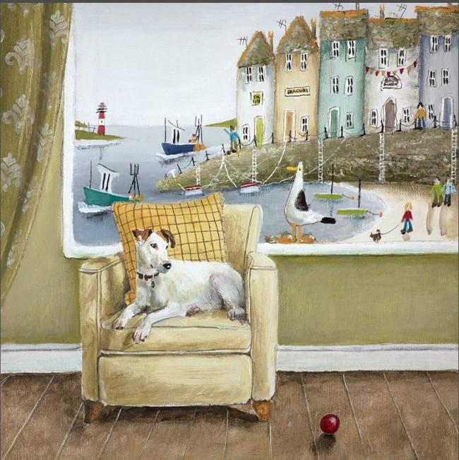 Sea Side Seatby Rebecca Lardner