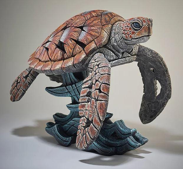 Sea Turtle by Edge Sculptures by Matt Buckley