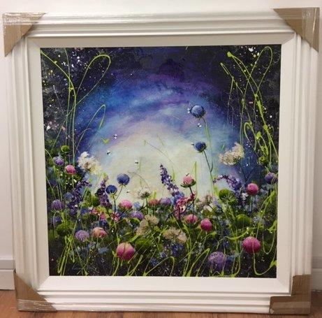 Secret Garden (35 x 35) by Rozanne Bell