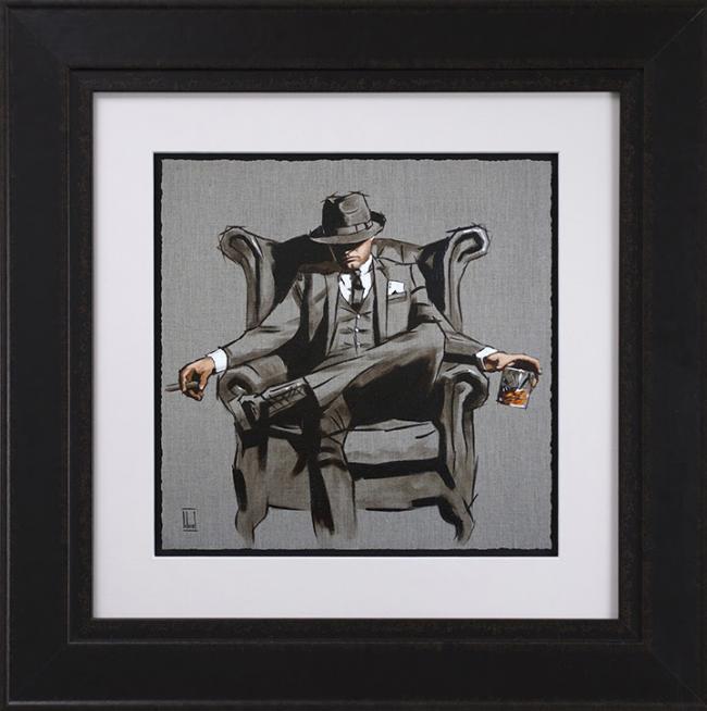 Self Made Man - Sketch by Richard Blunt
