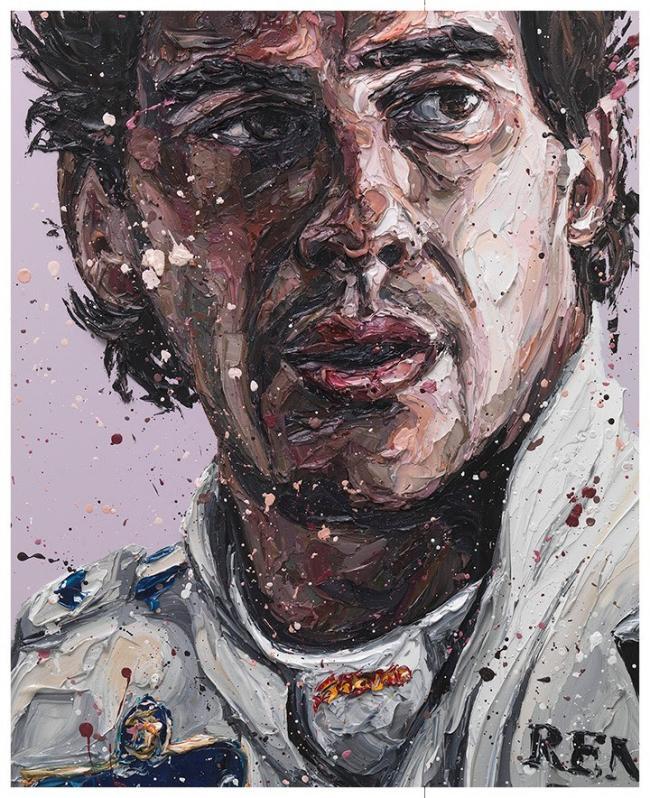 Senna Williams 2018 - Canvas by Paul Oz