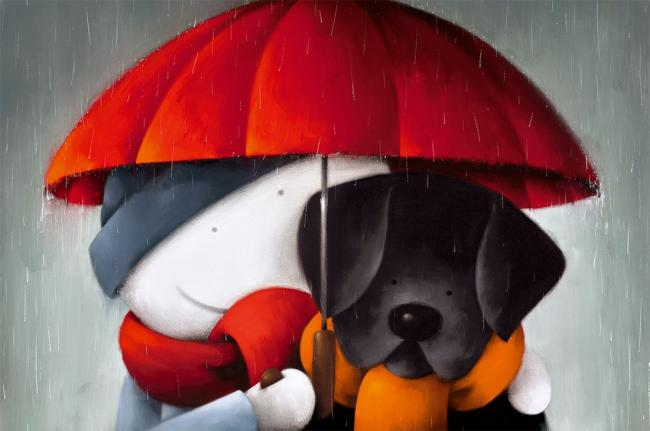 Showered With Love by Doug Hyde