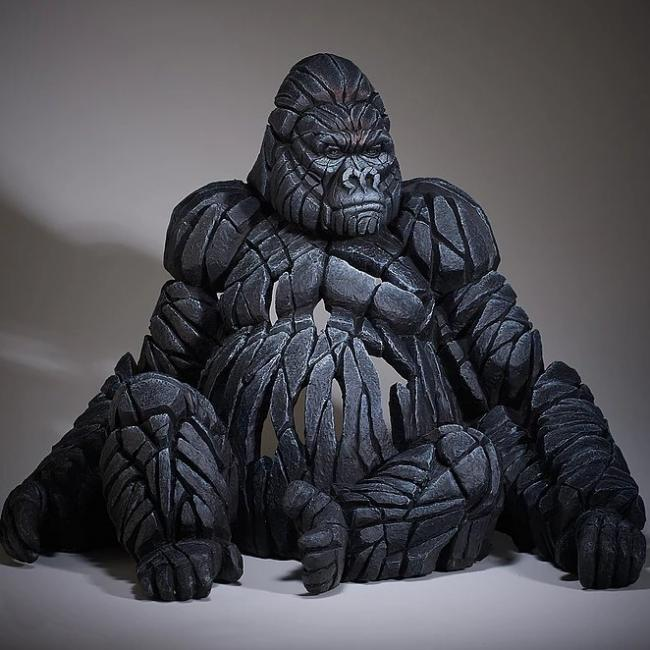Silverback Gorilla by Edge Sculptures by Matt Buckley