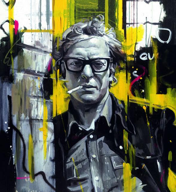 Sixties Style - Michael Caine by Zinsky
