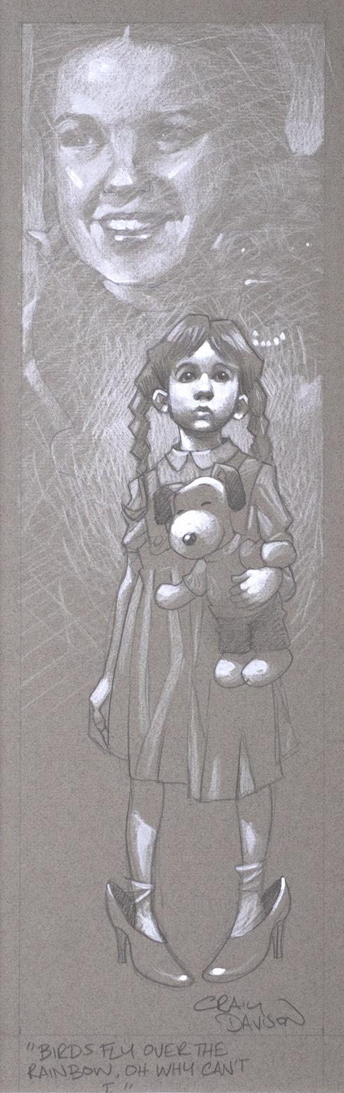 Sketch - Birds Fly Over The Rainbow by Craig Davison