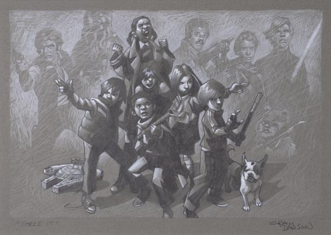 Sketch- Force It by Craig Davison