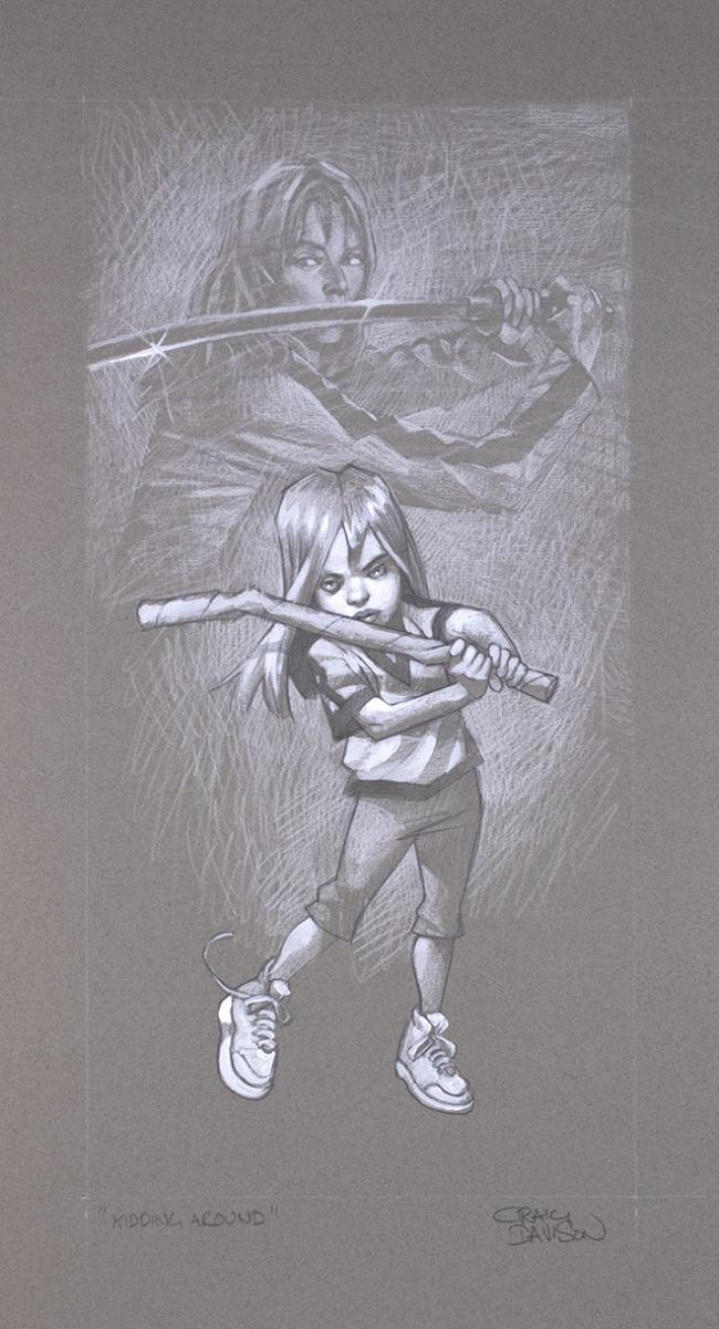 Sketch-Kidding Around by Craig Davison